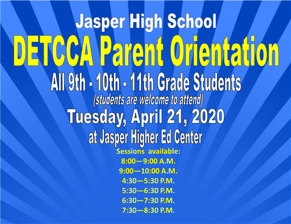 DETCCA Parent Orientation