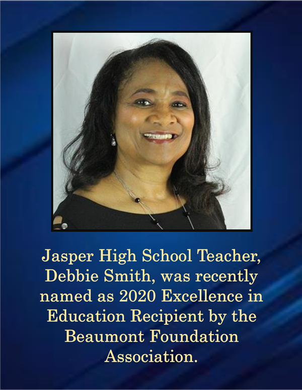 2020 Excellence in Education Recipient