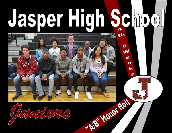 "Juniors ""A/B"" Honor Roll - 4th 6 Weeks"