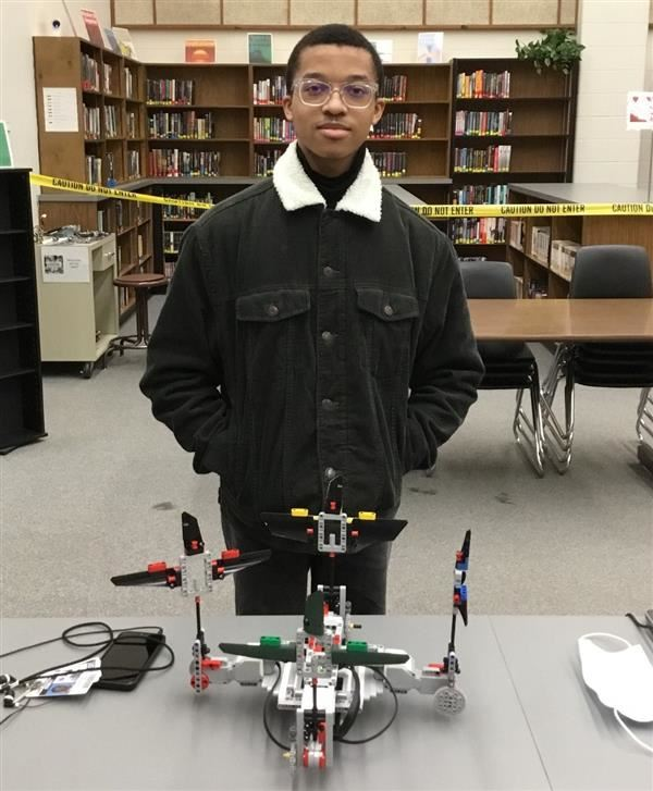 VOTE NOW!! JHS Student competes in Robotics Contest